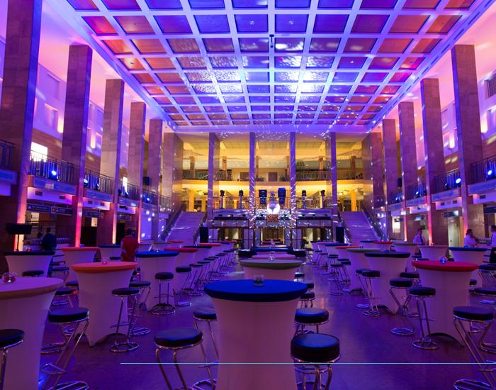 Complet rendezvényhelyszín - T1 Terminál 1 Event Center