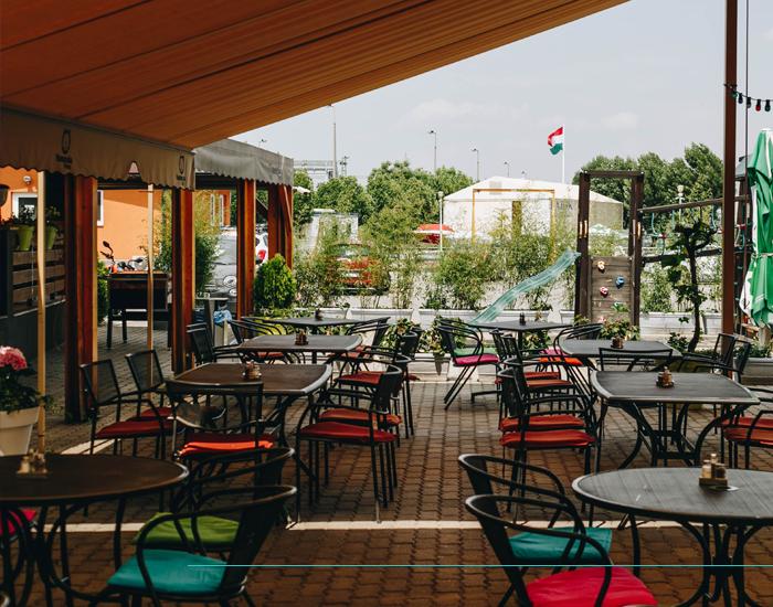 Complet rendezvényhelyszín - Vasmacska Terasz, Budapest